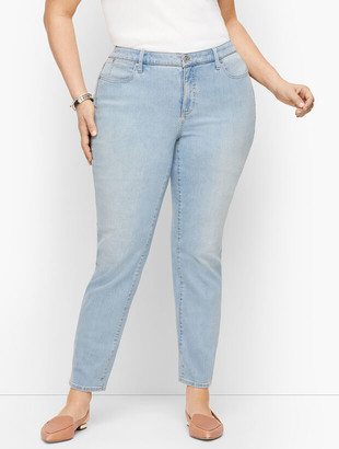 Talbots Plus Size Exclusive Slim Ankle Jeans - Curvy Fit - Skillman Wash