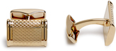 Dunhill Barley gold-plated cufflinks