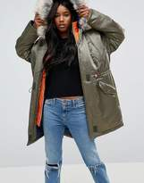 Asos Sporty 2 In 1 Parka