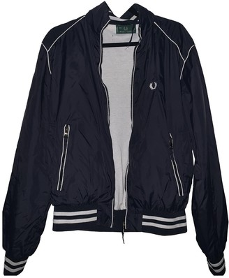 Fred Perry Blue Jacket for Women