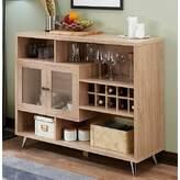 Duong Wooden Bar with Wine Storage Brayden Studio