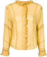 Etoile Isabel Marant Louna embroidered blouse