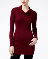 Amy Byer Juniors' Cowl-Neck Sweater