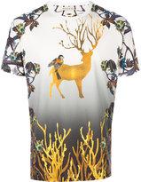 Etro deer print T-shirt