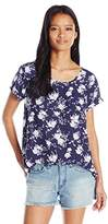 My Michelle Junior's Printed Short Sleeve Tee With Front Pocket