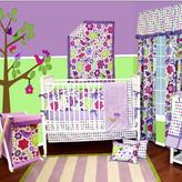 Bacati Botanical 10 Piece Crib Bedding Set