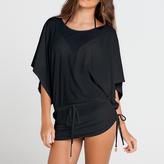 Luli Fama Cosita Buena Cover Ups South Beach Dress in Black (L177968)