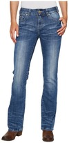 Rock and Roll Cowgirl Mid-Rise Bootcut in Medium Vintage W1-2350 Women's Jeans