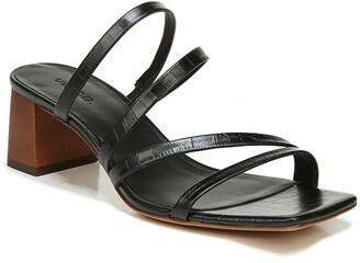 Vince Elita Block Heel Slide Sandal