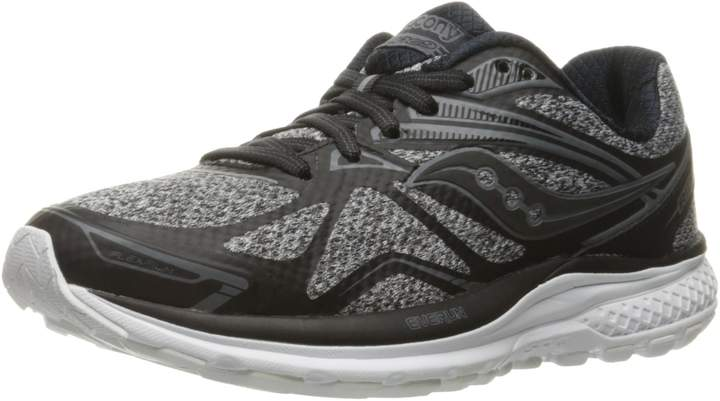 Saucony Women's Ride 9 LR Running Shoes, Marl/Black