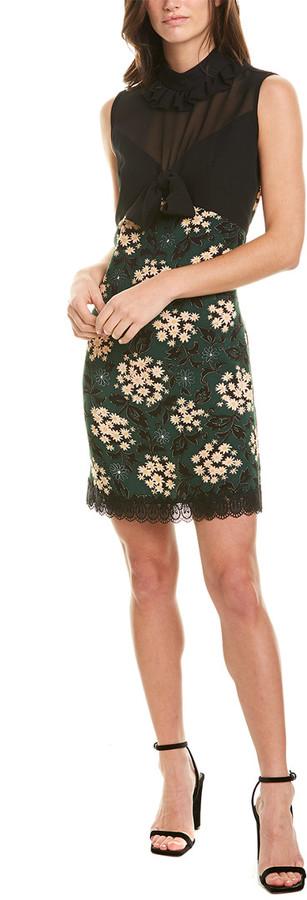 Anna Sui Harvest Bouquet Shift Dress