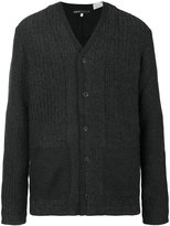 Levi's Made & Crafted - ribbed patch pocket cardigan - men - Cashmere/Wool - 1
