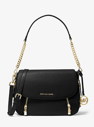 Michael Kors Bedford Legacy Medium Pebbled Leather Shoulder Bag