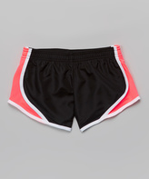 Soffe Black & Cotton Candy Shorts - Girls