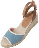 Soludos Women's Natural Linen Wedge Sandal 8122714
