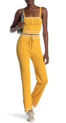 Emory Park Stripe Waist Drawstring Pants
