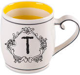 "Home Essentials Katie and Mandy Monogram ""T"" Mug"