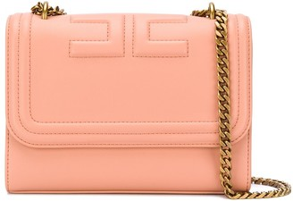 Elisabetta Franchi Logo Debossed Mini Shoulder Bag