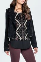 Miss Me Zipper Waist Trench Coat