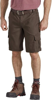 """Dickies Men's Tall 11"""" Cargo Tough Max Duck Short-Relaxed Fit Big"""