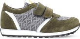 Fendi Mimosa logo suede trainers 3-5 years
