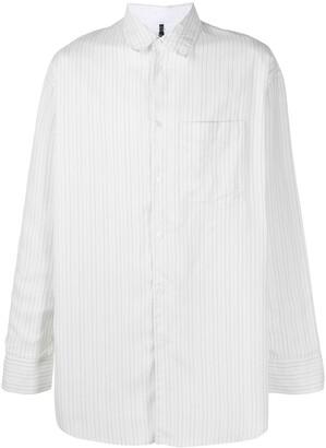 Oamc Loose Pinstripe Button-Up Shirt