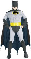 Justice Batman Deluxe Muscle Costume - Toddler