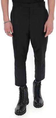 Rick Owens Slim Fit Cropped Pants