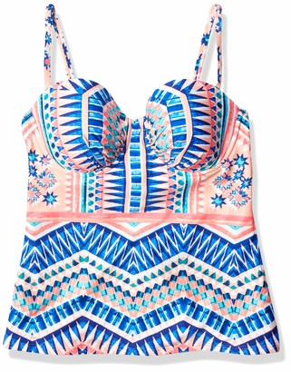 Kenneth Cole Reaction Women's Colors of Caracas Underwire Tankini