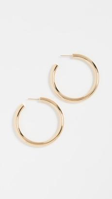 Jennifer Zeuner Jewelry Lou Medium Hoop Earrings