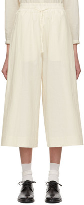 Toogood Off-White The Boxer Trousers