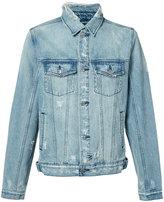 Ksubi stonewashed denim jacket - men - Cotton - XL