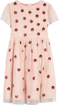 Boden Kids' Embellished Tulle Dress