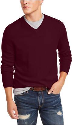 Club Room Men V-Neck Cashmere Sweater