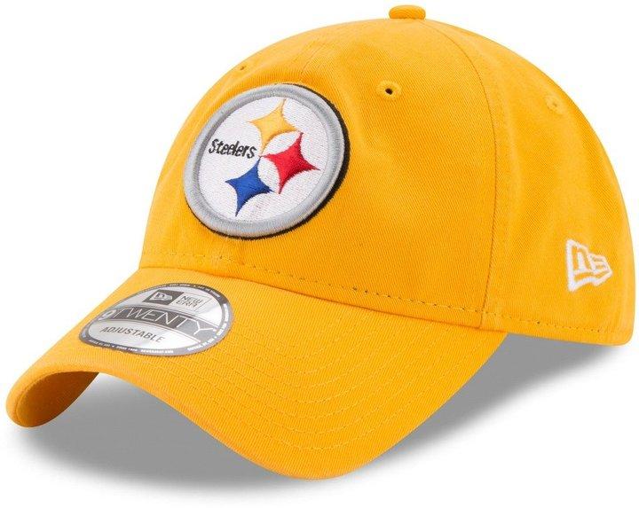 "New Era Pittsburgh Steelers NFL 9Twenty ""Team Sharpen"" Adjustable Hat"