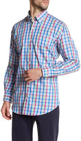 Peter Millar Plaid Button Regular Fit Shirt