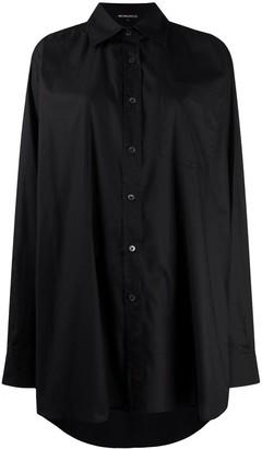Ann Demeulemeester Elongated Cotton Shirt