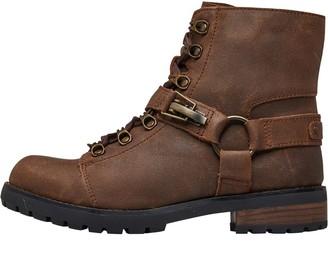 UGG Womens Fritzi Lace-Up Boots Chipmunk