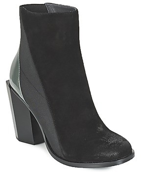 United Nude TETRA HI women's Low Ankle Boots in Black