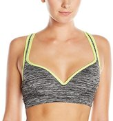 Flex Women's Push-Up Sports Bra with Adjustable Racer Back