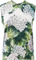 Dolce & Gabbana Hydrangea Lace Tank