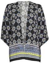 Wallis Petite Black Tile Border Jacket