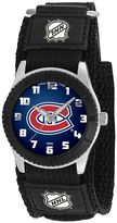 Game Time Rookie Series Montreal Canadiens Silver Tone Watch - NHL-ROB-MON - Kids