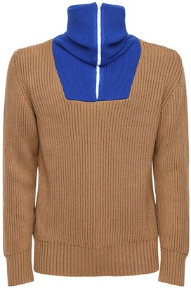 Lc23 Wool Blend Knit Sweater