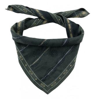 MCM Green Cotton Scarves & pocket squares