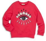 Kenzo Toddler's & Girl's Dancing Cactus Bella Sweater