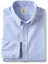 Classic Boys Long Sleeve Stripe Oxford Shirt-White