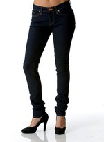 Earl Jeans Lady Skinny Jean in Rinse as Seen on Leighton Meister