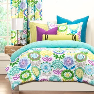 Crayola Pointillist PansyFull/Queen Comforter Set