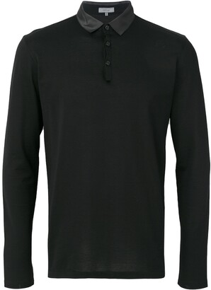 Lanvin polished polo shirt